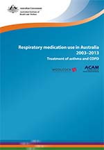 respiratory medication use in Australia 2003-2013